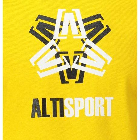 Pánské triko ALTISPORT ALM046129 ŽLUTÁ