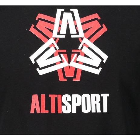 Pánské triko ALTISPORT ALM046129 ČERNÁ