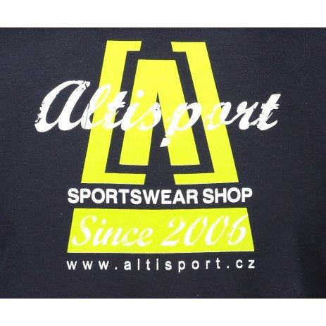 Pánské triko ALTISPORT ALM047129 NÁMOŘNÍ MODRÁ