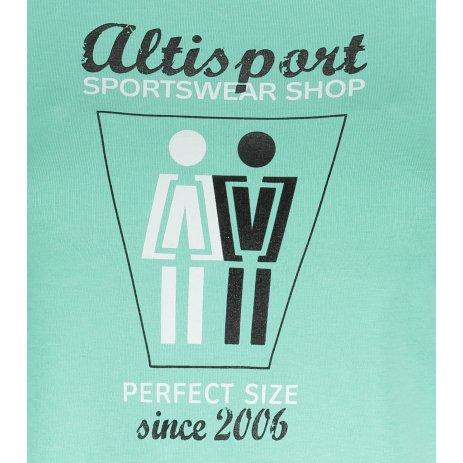 Dámské triko ALTISPORT ALW049122 MÁTOVÁ
