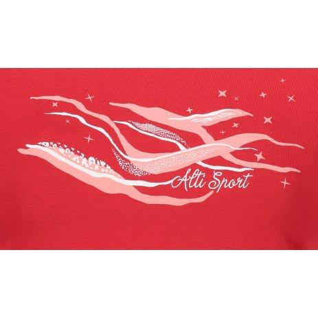 Dámské triko ALTISPORT ALW054122 ČERVENÁ