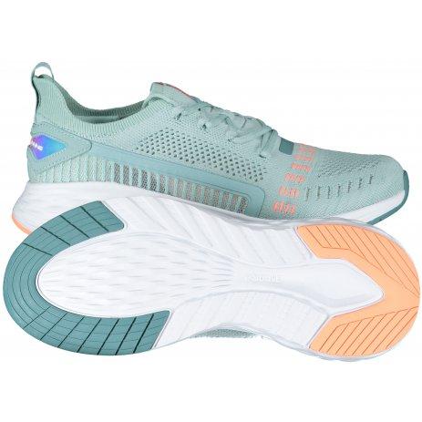 Dámské běžecké boty PEAK CUSHION RUNNING SHOES EW02868H GRAY GREEN