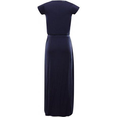 Dámské šaty ALPINE PRO RISA LSKT288 TMAVĚ MODRÁ