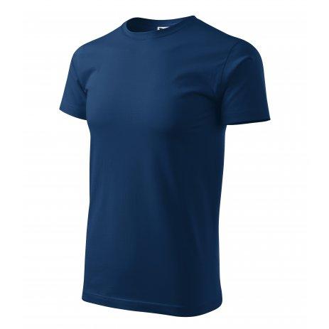 Pánské triko MALFINI BASIC 129 PŮLNOČNÍ MODRÁ