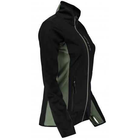 Dámská softshellová bunda ALPINE PRO OLYMPA LJCT475 ČERNÁ