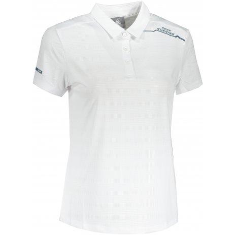 Dámské funkční triko s límečkem PEAK POLO T SHIRT FW602568 WHITE