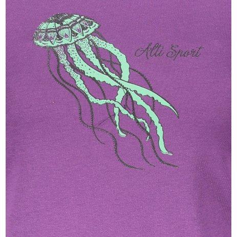 Dámské triko ALTISPORT ALW051122 FIALOVÁ