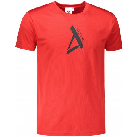 Pánské funkční triko ALTISPORT ALM014124 ČERVENÁ