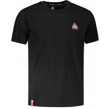 Pánské triko PEAK ROUND NECK T SHIRT FW602541 BLACK