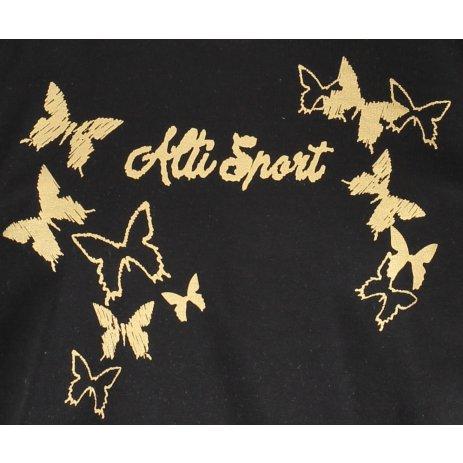 Dětské triko ALTISPORT ALK011138 ČERNÁ