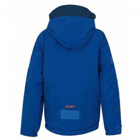 Dětská zimní bunda HUSKY GOMEZ K MODRÁ