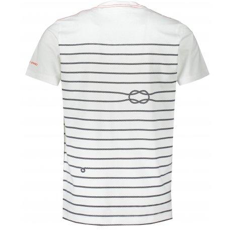 Pánské triko ALPINE PRO MARIN 2 MTST581 BÍLÁ
