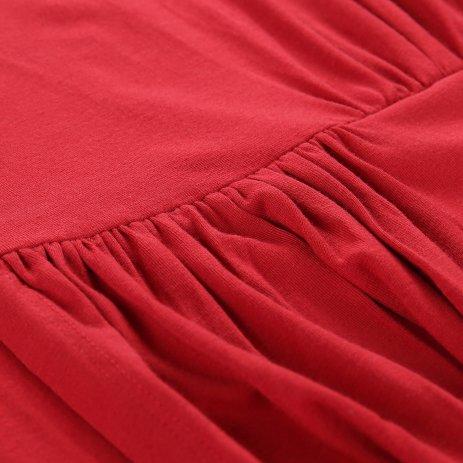 Dámské šaty ALPINE PRO PERIKA LSKT289 ČERVENÁ