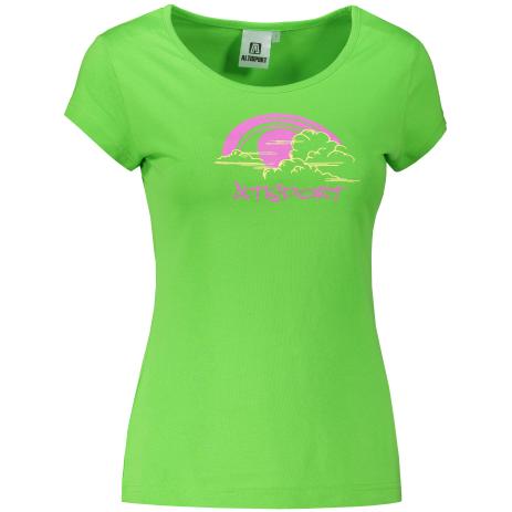 Dámské triko ALTISPORT ALW044122 APPLE GREEN