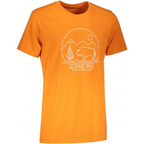 Pánské triko ALPINE PRO ABIC 9 MTST577 ORANŽOVÁ