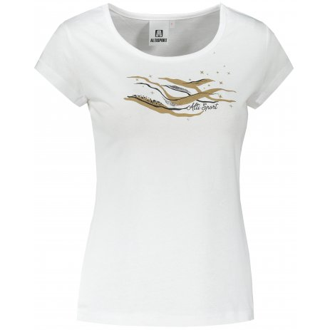Dámské triko ALTISPORT ALW054122 BÍLÁ