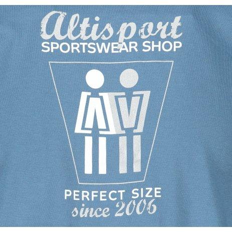 Pánské triko ALTISPORT ALM049129 DENIM