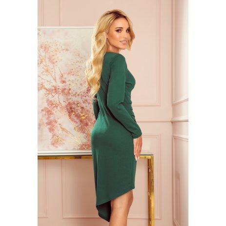 Dámské šaty NUMOCO A290-2 ZELENÁ