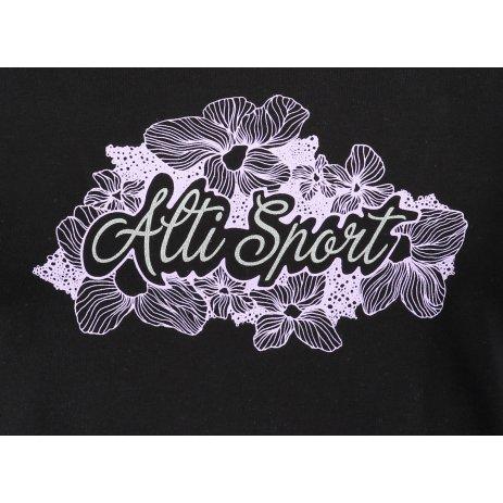 Dámské triko ALTISPORT ALW057122 ČERNÁ
