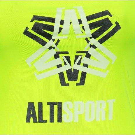 Dámské funkční tílko ALTISPORT ALW046167 NEON YELLOW
