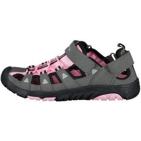 Dívčí sandále SAM 73 SEBBO KBTT295 ŠEDÁ/RŮŽOVÁ