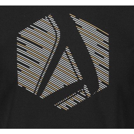 Pánské funkční triko ALTISPORT ALM033124 ČERNÁ