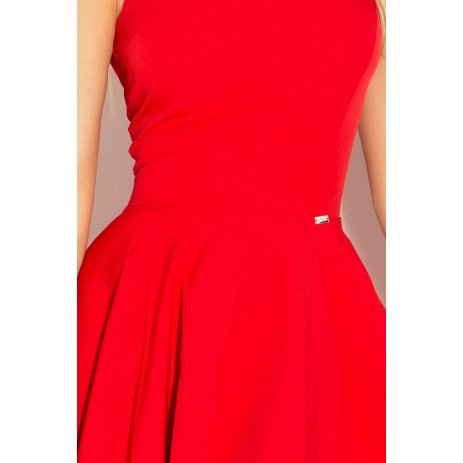 Dámské šaty NUMOCO A114-3 ČERVENÁ