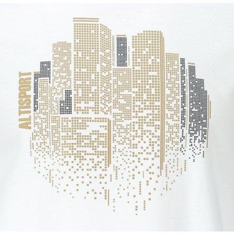 Pánské triko ALTISPORT ALM060129 BÍLÁ