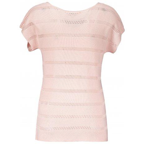 Dámské svetrové triko KIXMI LANETTE SVĚTLE RŮŽOVÁ