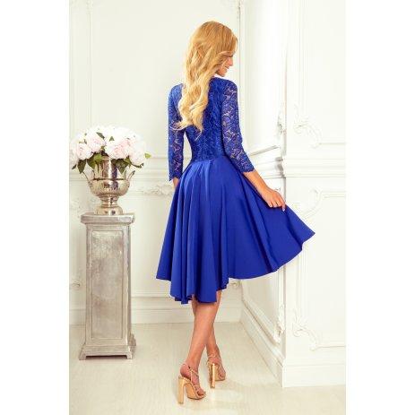 Dámské šaty NUMOCO NICOLLE A210-12 MODRÁ