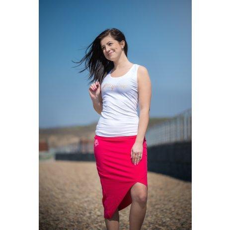 Dámská sukně ALTISPORT LARCA LSKT347 RŮŽOVÁ