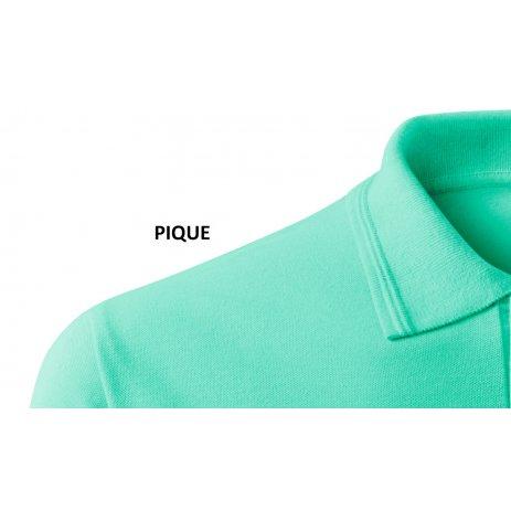 Pánské triko s límečkem ALTISPORT ALM065203 MÁTOVÁ