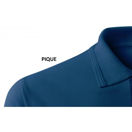 Dámské triko s límečkem ALTISPORT ALW016210 PŮLNOČNÍ MODRÁ