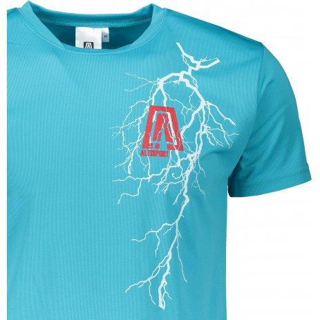 Pánské funkční triko ALTISPORT ALM027124 TYRKYSOVÁ