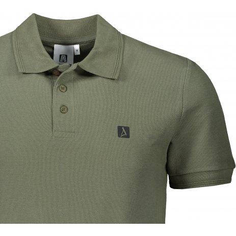 Pánské triko s límečkem ALTISPORT ALM065203 KHAKI