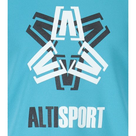 Dětské funkční triko ALTISPORT ALK046147 TYRKYSOVÁ