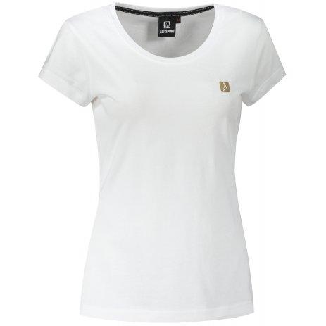 Dámské premium triko ALTISPORT ALW065154 BÍLÁ
