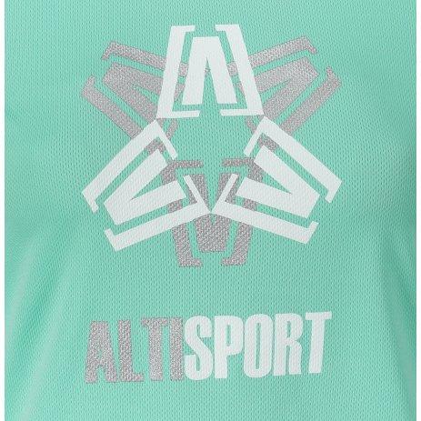 Dámské funkční triko ALTISPORT ALW046140 MÁTOVÁ