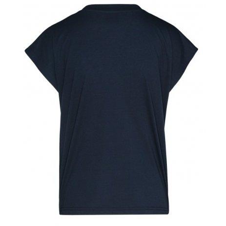 Dámské triko s krátkým rukávem SAM 73 ROBYN WT 814 TMAVĚ MODRÁ