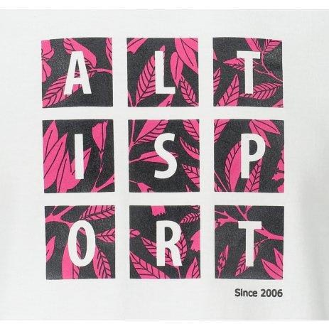 Pánské triko ALTISPORT ALM063129 BÍLÁ