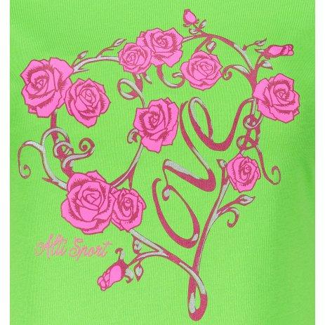 Dámské triko ALTISPORT ALW062122 APPLE GREEN