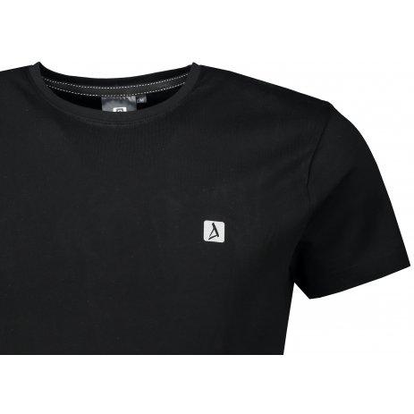 Pánské premium triko ALTISPORT ALM065153 ČERNÁ