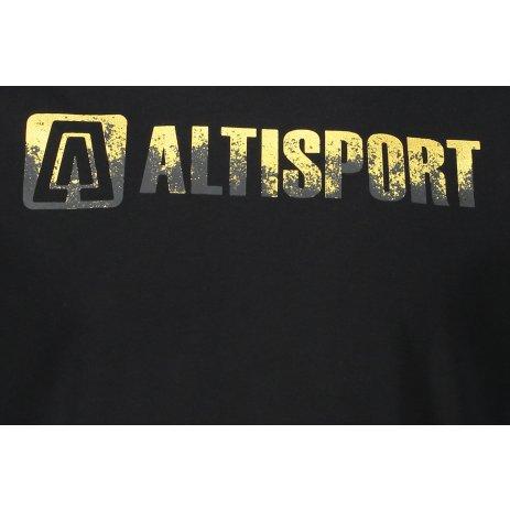 Pánské triko ALTISPORT AURIT MTST642 ČERNÁ