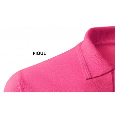 Pánské triko s límečkem ALTISPORT ALM065203 PURPUROVÁ