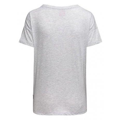 Dámské triko s krátkým rukávem SAM 73 SIAN WT 820 ŠEDÁ
