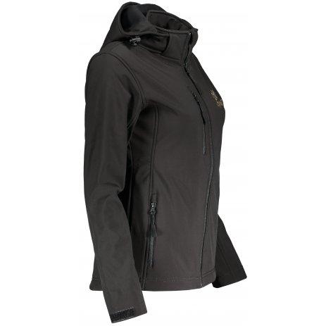 Dámská softshellová bunda ALTISPORT ALW056521 ČERNÁ