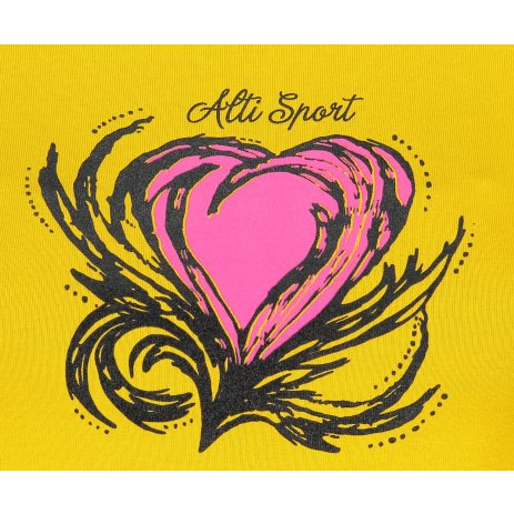 Dámské triko ALTISPORT ALW061122 ŽLUTÁ