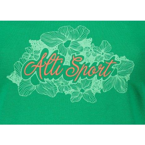 Dámské triko ALTISPORT ALW057122 STŘEDNĚ ZELENÁ
