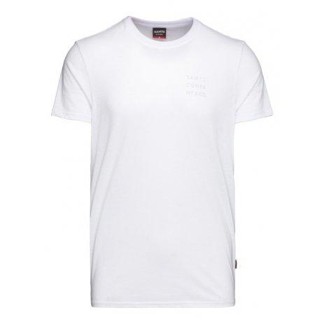 Pánské triko s krátkým rukávem SAM 73 TOBIAS MT 776 BÍLÁ