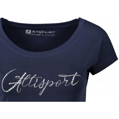 Dámské triko ALTISPORT CIANNA LTST771 TMAVĚ MODRÁ